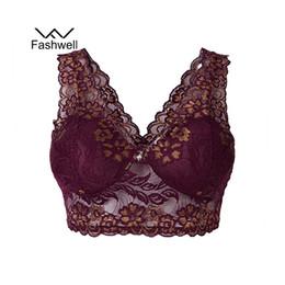 b3d3300fd6 China Black Women Bralette Bra Vest Sexy Lace Bra Women Ladies Underwear  Padded Plus Size Brassiere