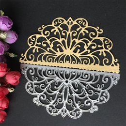 craft knife tool Promo Codes - Diy Scrapbook Metal Cutting Die Card Album Carbon Steel Exquisite Paper Mold Embossing Crafts Crown Shape Knife Mould 8kg jj
