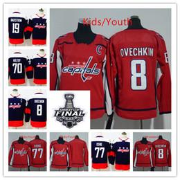 a1cb9be75 Youth Womens 2018 Champions Washington Capitals 8 Alex Ovechkin 77 TJ Oshie  Hockey 19 Nicklas Backstrom 70 Braden Holtby Hockey Jersey