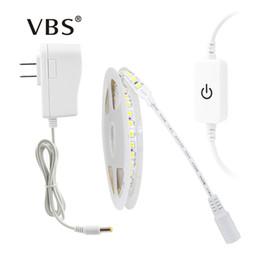 5M 300Leds 600LEDs Non étanche Led Light Strip 4040 Dimmable Touch Dimmer 2A Ruban D'alimentation Led Light White Blanc Chaud ? partir de fabricateur