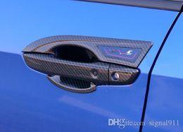 Wholesale Honda Handle - High quality ABS chrome 8pcs door handle cover+4pcs door handle bowl with logo for Honda CIVIC 2016-2018