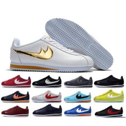 Wholesale Womens Hot Pink Tops - 2017 Hot Sale Cortez Mens Womens Net Point Running Shoes for Sculpture High Frequency Top quality Outdoor Classic Casual Sneakers 36-44