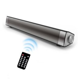 Wholesale Wireless Speakers For Desktop - Tv soundbar wireless bluetooth speaker sound bar with subwoofer 10W Stereo speaker for Computer Desktop Laptop PC and Smartphone TF card rem