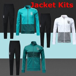 Wholesale germany coat - TOP best 2018 Deutschland jacket kits Germany coat Soccer Jerseys Hummels MULLER Alemanha soccer shirt OZIL KROOS GOTZE training wear