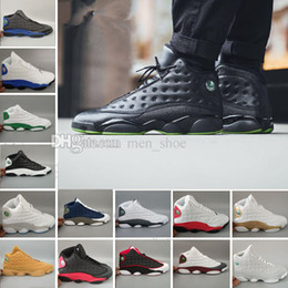 Wholesale Element Shoes - Wholesale New 13 Basketball Shoes Winter Wheat Jinfeng Elements Gold Men 13s Basketball Sneakers Sports Sneakers Size 8.0-13