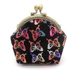 butterfly coins Promo Codes - Bags For Women 2018 Coin Purse Coin Wallet Women Lady Retro Vintage Butterfly Small Wallet Hasp Purse Clutch Bag