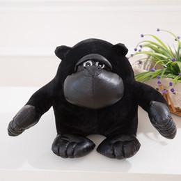 Wholesale Cute Stuffed Animals Monkeys - Orangutan Plush Toys Stuffed Cute Realistic Animal Ape Gorilla Chimpanzee Monkey Toy Valentine's Day Love Gifts 30cm