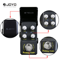 Wholesale Joyo Multi Effect Pedal - JOYO JF-306 Rush Tren Simulador de Amplificador VOX Estilo Mini Efectos de Guitarra Pedal-Guitar effect pedal