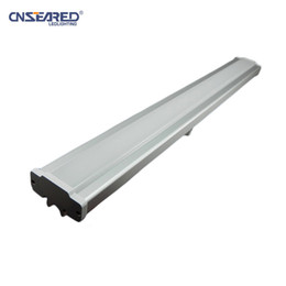 Wholesale Daylight Led Tube Lamp - 0.6M 12W   1.2M 25W 5700K 6500K Integrated Bracket LED Daylight Fluorescent Tube Lamp Light for Garage Factory Office Lighting