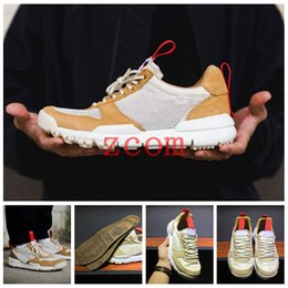918d9d485 Tom Sachs x Craft Mars Yard 2.0 TS NASA Running Shoes for men AA2261-100  Natural Sport Red Sneaker Designer Shoe Zapatillas Vintage