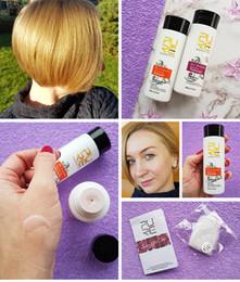 productos para el cuidado del cabello al por mayor Rebajas 2PCS SET 5% PURC enderezar el cabello reparar y enderezar el daño de los productos para el cabello brasileño tratamiento de queratina + champú purificador PURE