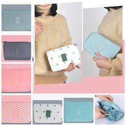 Wholesale Travel Gadget Bags - Digital Storage Bag Shockproof Data Cable Travel Organizer Bag Digital Gadget Cable USB Cable Earphone Cosmetic Bags Organizer LJJK922