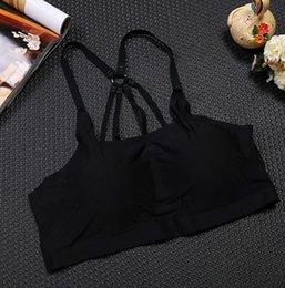Wholesale one button vest - 38 Ladies No Parachute Parachute US Underwear Vest One-piece Trays Yoga Promo Camposole & Tanks