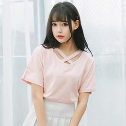 2df7c0e747667 t-shirt mignon femme coréenne Promotion 2018 été nouvelles femmes mignonne  rose t-shirt
