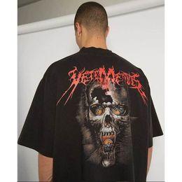 Wholesale band t shirt xl - 2018 Vetements Style Rock Band Printed Rocky Punk Style Women Men T shirts tee Hip hop Men cotton T shirt