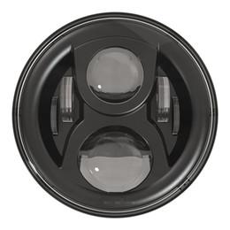 "Wholesale halo headlamps - High Quality LED Halo Headlights Kit 7"" Headlight H4 Hi low Auto Headlight Headlamp For Jeeep Wrangler JK TJ Hummerr Harley moto"