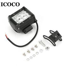 fahrzeug arbeitsscheinwerfer 12v Rabatt ICOCO 27W 9pcs * 3W LED-Auto-Arbeitslicht-Scheinwerfer-Scheinwerfer- / Flutlicht-Arbeitslampe für Universalfahrzeug 12V