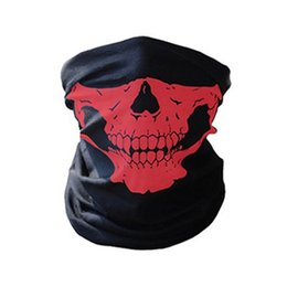 Wholesale Tactical Ghost Mask - CALOFE Skull Mask Skeleton Balaclava Ghost Tactical Breathable Outdoor Sports Ski Cycling UV Protect Skull Face Mask