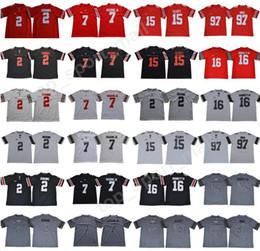 NCAA Ohio State Buckeyes 2 JK Dobbins Jersey Men College Football 7 Dwayne  Haskins Jr 15 Ezekiel Elliott 97 Joey Bosa Legend Red Black White 706af5abe