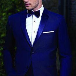 c68c5010b ternos sob medida Desconto 2018 homens bonitos ternos azul royal padrinhos  smoking smoking slim fit partido