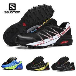 scarpe da passeggio estivo uomo Sconti 2018 Salomon Speed Cross 3  Speedcross Nero Bianco f68069f3419