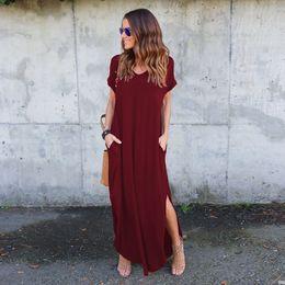 c8a17de695d8 gravidanza vestiti2018 nuovo vino rosso grigio blu navy nero abiti di  maternità a buon mercato hamile giyim vendita calda vestido gestante