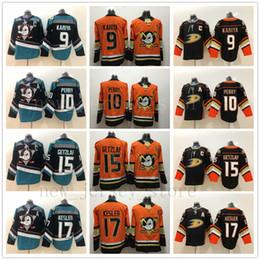 56fd684b4 2018 Anaheim Ducks   10 Corey Perry Camisetas de hockey Naranja   9 Paul  Kariya Negro   8 Teemu Selanne   15 Ryan Getzlaf   17 Ryan Kesler Jerseys  rebajas ...