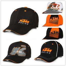 Loghi del motore online-Cappellino da motociclista di alta qualità Snapback per motociclista Cappellino da motociclista per F1 Cappellino da motociclista per KTM Cappellino da baseball