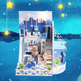 große plastikpuppen Rabatt Puppenhaus Miniatur Puppenhaus Casa Holz Nette Villa Modell Mit Möbel Bausätze Weihnachtsgeschenk Spielzeug Für Kinder K030 # E