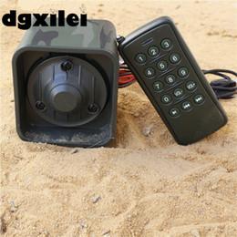 Wholesale Hunting Bird Decoys - Digital Hunting Bird Caller MP3 Player Bird Sound Caller Game Hunting Decoy+ Wireless Remote Control +210 Sounds