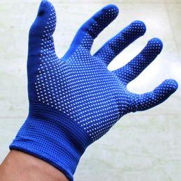 Wholesale Working Gloves Wholesale - Fashion men Non-slip with Silica Gel gloves fingerless Glove anti slip lifting full Finger Working Gloves F0297