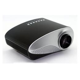 menor tv lcd Desconto LED mini Vídeo Pico Portátil Micro Pequeno Mini Projetor LED Mini Projetor Home Cinema Suporte AV TV VGA HDMI OTH823