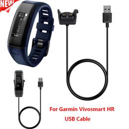 Canada Date USB Câble de Recharge Pour Garmin Vivosmart HR + Sync Chargeur Pour Garmin Vivosmart HR Fitness Bande Bracelet Bracelet Bracelet Offre