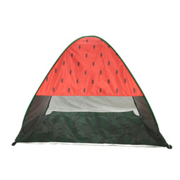 Wholesale uv aa - Widesea New Pop Up Beach Tent Watermelon UV Protective Quick Automatic Open Fishing Hiking And Camping Gazebo 54hy aa