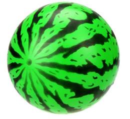 Canada 20 cm Gonflable Grande Pastèque Plage Ball Multicolore En Plein Air Plage Balle Sports D'eau Ballon D'eau Jouet Enfant Été Meilleur Jouet Offre