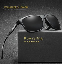 e5013b1b8f Ruosyling Vintage Sunglasses Polarized Men Male UV 400 Goggle Polarized Sun  Glasses Goggle 2018 Retro Lentes de sol Mujer discount lentes sol mujer