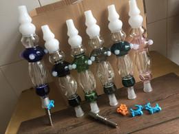 Kit de colectores de néctar con clips de plástico de uñas de titanio nuevo diseño dos accesorios 14 mm colector nector plataformas petrolíferas vidrio tubo de agua bong desde fabricantes
