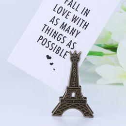 Trombone Memo Vintage en métal avec Tour Eiffel, Paris, pour Message Deco Photo ? partir de fabricateur