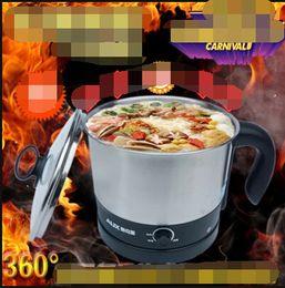 Wholesale mini electric cooker - Wholesale-Electric egg noodle boiler, electric cooker   multi-function electric boiling   Hot pot   mini noodles cooker
