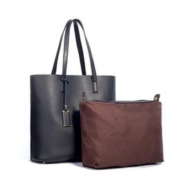 21c71f15b85a 2018 Special Offer Women Leather Shoulder Bag Set Casual Totes Female  Handbag Simple Purse Larger Capacity Top-Handle Zipper Bag