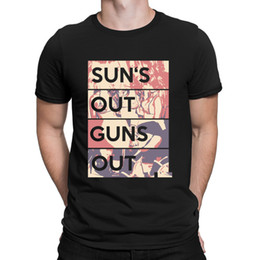 Marca de armas camisetas online-Gun Sun Out Guns Out T-Shirts Costume Branded Personaliza 2018 T Shirt For Men New Fashion Hot Sale Manga corta Anlarach Novedad