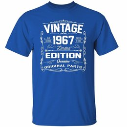 00b54233 Company T Shirts Vintage 1967 Limited Edition Shirts Awesome Gifts For  Birthday T Shirt O-Neck Men Short Graphic T Shirts