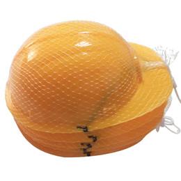 Juguetes duros online-Los niños se visten los sombreros duros de construcción de plástico blando accesorios para los niños construcción construcción temática divertido partido favores juguetes sombrero WX9-466