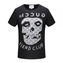 Wholesale Leopard Print Satin Dress - 2018 Men Summer tiger T Shirt Fashion men medusa t-shirt Clothing Casual Skull Letter print Hip Hop new style Man snake t-shirt Clothin