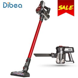 Wholesale Portable Remote Control - Dibea C17 Portable 2 In1 Cordless Stick Handheld Vacuum Cleaner Dust Collector Household Aspirator With Docking Station Sweeper