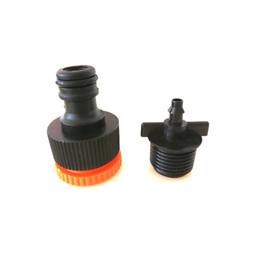 Wholesale tap adaptors - Outdoor Universal Tap Adaptor Plastic Hose Connecto +Garden Micro Sprinkling Drip Irrigation Fittings