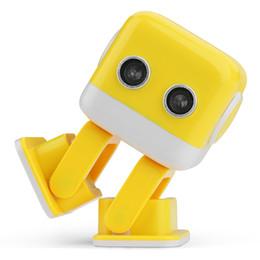 Wifi music player bluetooth en Ligne-Cubee F9 Robot de danse Bluetooth Lecteur de musique infrarouge / Wifi APP Robot de divertissement intelligent Android avec musique de danse Enfants Jouets