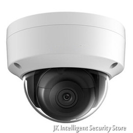 camera ds Coupons - Hikvision DS-2CD2185FWD-I New Oversea Version IP housing 8MP Dome IR Camera POE security HD Mini White CCTV security Camera