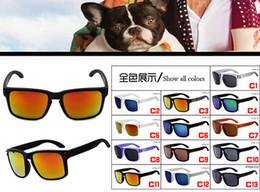 Options lunettes en Ligne-Été 13 couleurs options Mode Lunettes de Soleil Femmes Sport Lunettes de soleil hommes marque Designer en plein air conduite Lunettes UV400 LIVRAISON GRATUITE