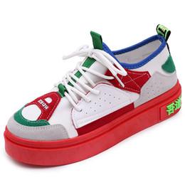 59f35a8ec Mulheres sapatos de caminhada cunha plataforma mulher Altura Crescente  plana tênis agradável super leve lona Fundo Grosso senhora Calçado desconto  sapatas ...